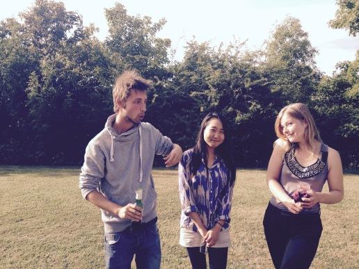 Laurent, Rosa and Chloe
