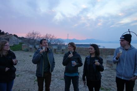 Champagne reception (2/4)