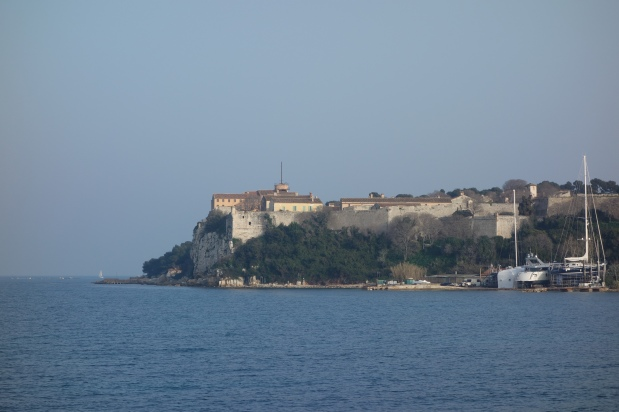 View of the fort from the tip of the island