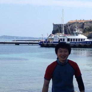 Satoshi by the sea
