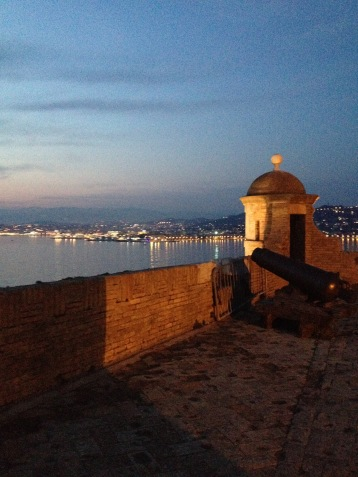 Cannes at dusk