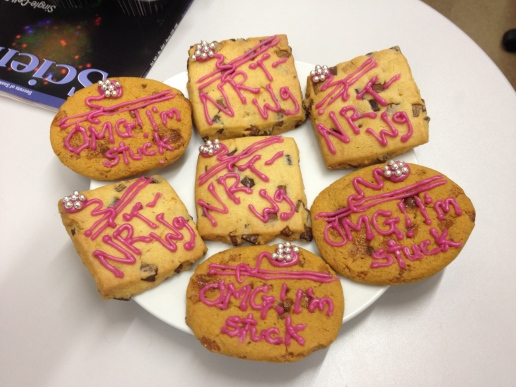 NRT wingless cookies.