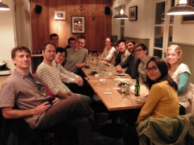 Austrian themed lab meal at Kipferl.