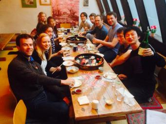 Sushi meal to say goodbye to Satoshi (2/2)